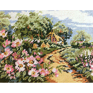 Primavera Needlepoint Picture Kit - England