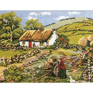 Primavera Needlepoint Picture Kit - Ireland
