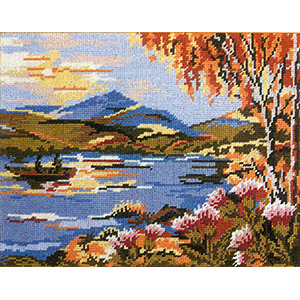 Primavera Needlepoint Picture Kit - Scotland Loch