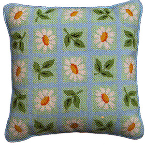 Primavera Needlepoint Cushion Kit - Fresh as a Daisy