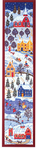 Primavera Needlepoint Wallhanging Kit - Winter Wonderland