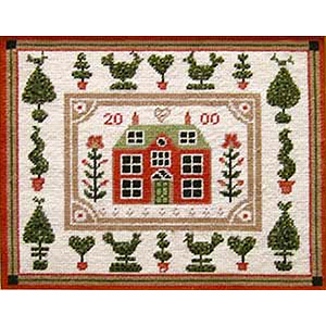 Primavera Needlepoint Picture Kit - Little Red House