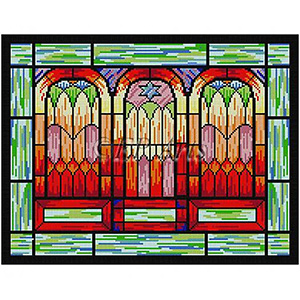 Windows Needlepoint Tallis Canvas