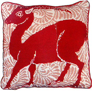 Fine Cell Work Needlepoint - Deer