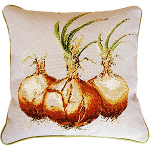 Fine Cell Work Needlepoint - Onion