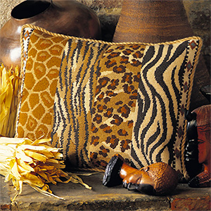 Glorafilia Needlepoint - Wildlife Cushion Kit