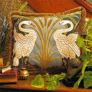 Glorafilia Needlepoint - Swans Cushion Kit