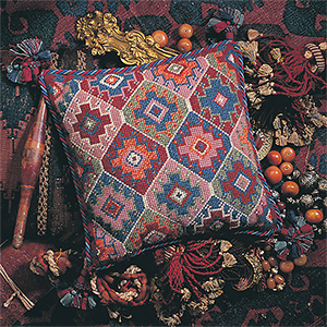 Glorafilia Needlepoint - Turkish Cushion Kit