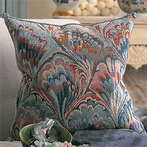 Glorafilia Needlepoint - Marbled Cushion Kit