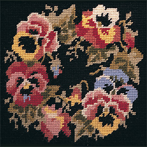 Glorafilia Needlepoint - Victorian Garland Miniature Kit