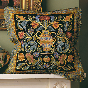 Glorafilia Needlepoint - Renaissance Cushion Kit