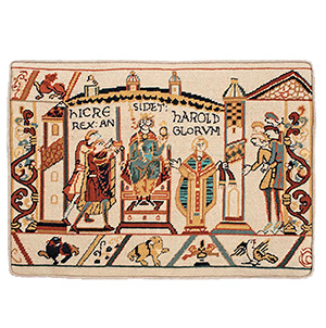 Glorafilia Needlepoint - The Coronation of Harold Cushion Kit