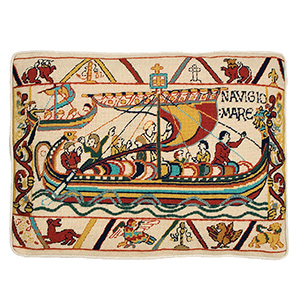 "Glorafilia Needlepoint - Invasion ""The Crossing"" Cushion Kit"