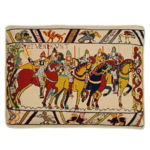 "Glorafilia Needlepoint - Hastings ""William Rides to War"" Cushion Kit"
