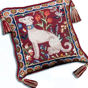 Glorafilia - Cushions & Pillows - Medieval Dog