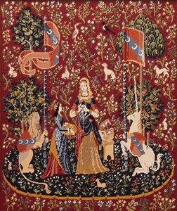 Glorafilia Needlepoint - Wall Hangings - Medieval Picture (Lady & the Unicorn)