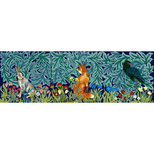 Beth Russell Needlepoint - William Morris Forest Collection - Forest Trio Tapestry