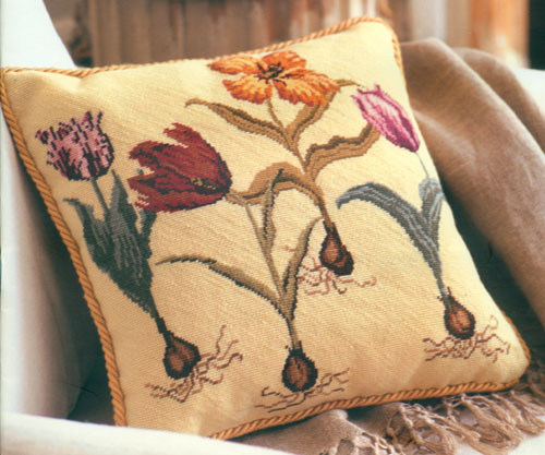 Julia Hickman's Stitchery Needlepoint - Tulips Kit