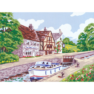 Country Lock - Anchor British Collection Needlepoint Tapestry Kit