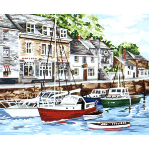 Padstow Harbour - Anchor British Collection Needlepoint Tapestry Kit