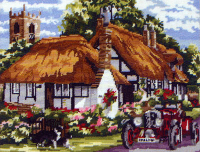 The Village of Welford by Amanda Butler - Anchor British Collection Needlepoint Tapestry Kit