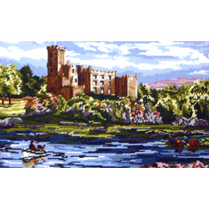 Dunvegan Castle, Isle of Skye, by Amanda Butler - Anchor British Collection Needlepoint Tapestry Kit