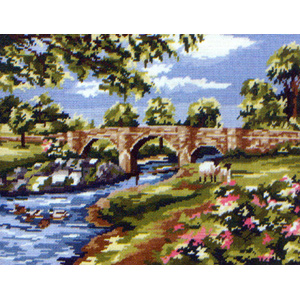 Devils Bridge, Kirby Lonsdale, by Amanda Butler - Anchor British Collection Needlepoint Tapestry Kit