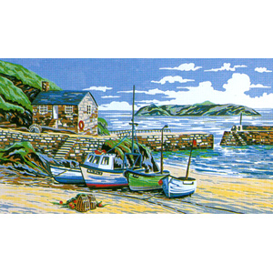 Mullion Cove, Cornwall - Anchor British Collection Needlepoint Tapestry Kit