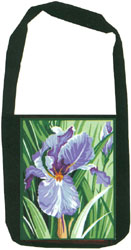 Margot Creations de Paris Needlepoint Shoulder Bag Kit - Iris