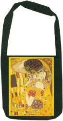 Margot Creations de Paris Needlepoint Shoulder Bag Kit - The Kiss by Klimt