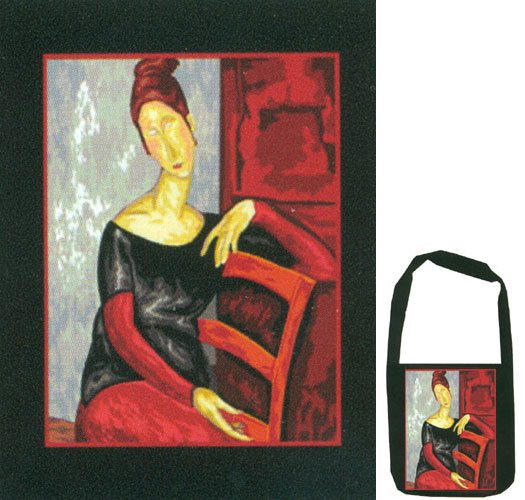 Margot Creations de Paris Needlepoint Shoulder Bag Kit -  Jeanne by Modigliani