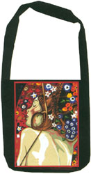 Margot Creations de Paris Needlepoint Shoulder Bag Kit - The Serpent by Klimt