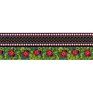 Margot Creations de Paris Needlepoint Ladybugs Breeze Stopper