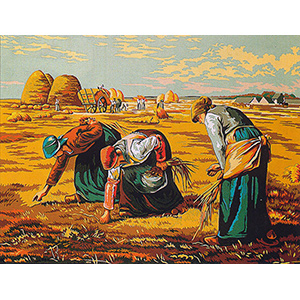 Margot Creations de Paris Needlepoint (Les Glaneuses) The Gleaners by Millet Large Canvas