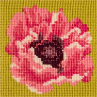 Elizabeth Bradley Needlepoint - Miniatures - Blooms - Poppy