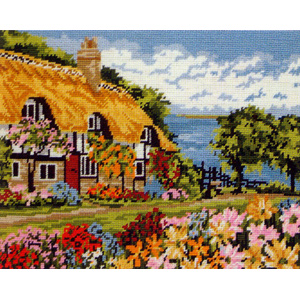 Seaview Cottage - Anchor Needlepoint Tapestry Kit