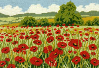 Poppy Field - Anchor Needlepoint Tapestry Kit