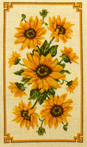 Sunflower Panel - Anchor Needlepoint Tapestry (or Cushion) Kit