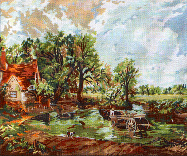 The Haywain - Anchor Needlepoint Tapestry