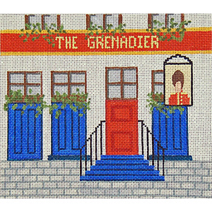 Pub 06 - The Grenadier - Hand-Painted Needlepoint Canvas