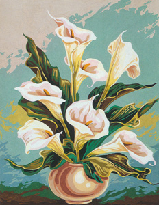 SEG de Paris Needlepoint - Arums Canvas