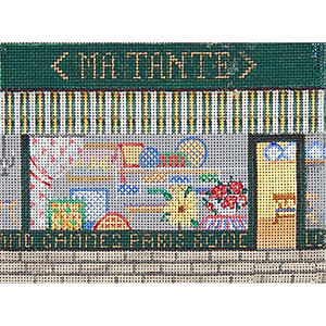 Gift Shop - Hand-Painted Needlepoint Canvas