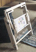 Stow Away Floor Stand - Folded