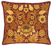 Beth Russell Needlepoint - Sunflower Collection - Sunflower 1 Pillow/Chairseat Kit